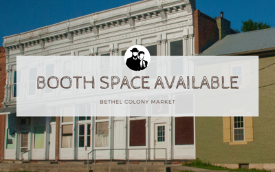 Bethel Colony Market Now Open