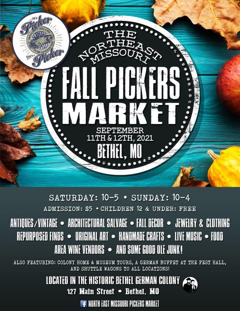 Fall Pickers Market - Bethel MO 2021