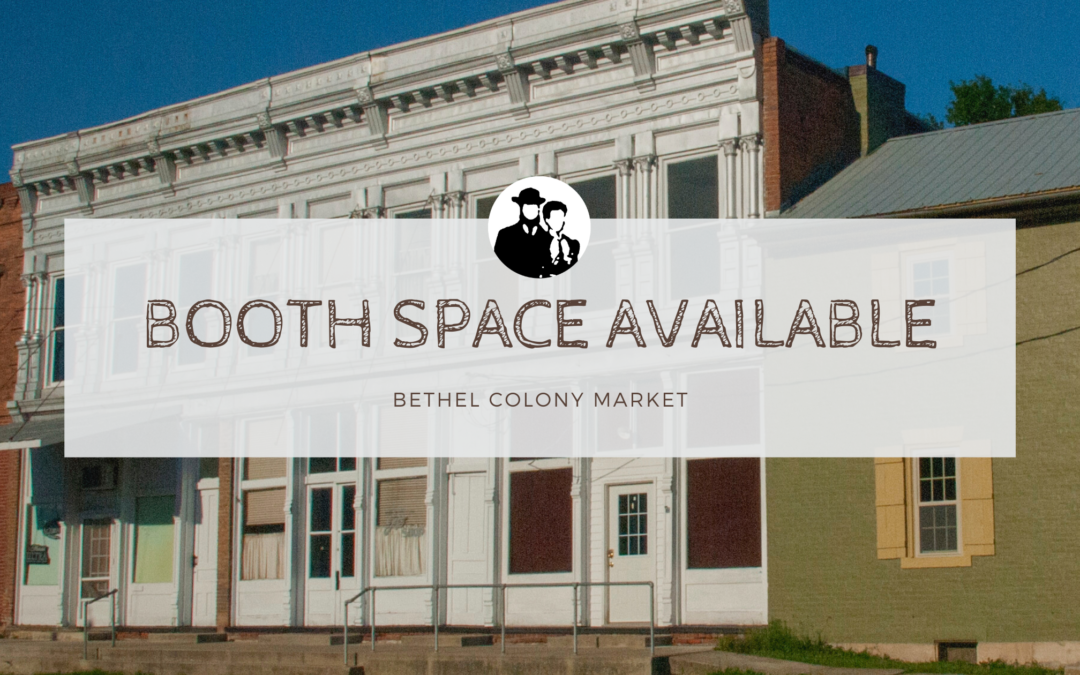 Bethel Colony Market Now Open