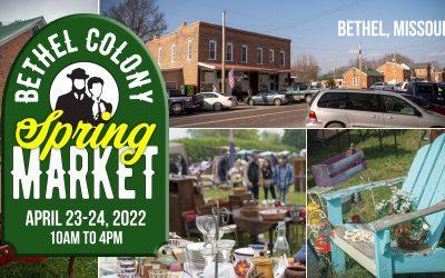 Bethel Colony Market 2022 Dates Announced